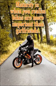 motorcycle rider quotes